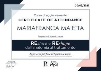 Dott.ssa Mariafranca Maietta