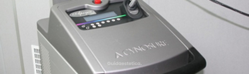 laser Alessandrite apogee-cynosure - il meglio per l'epilazione