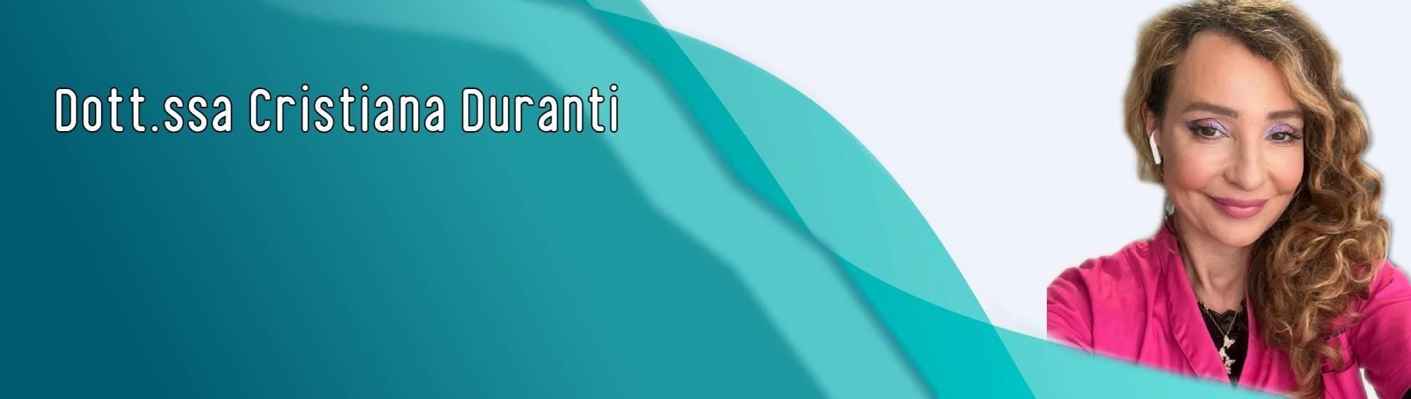 Dott.ssa Cristiana Duranti