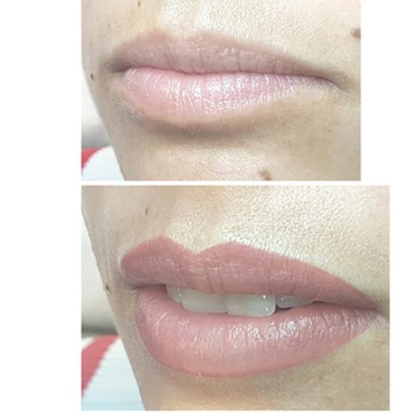 Micropigmentazione labbra risultati