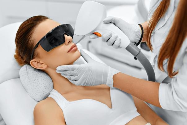 Laser terapia per il volto