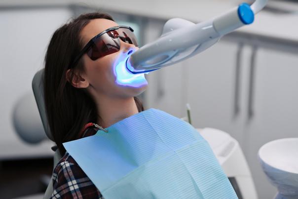 Cosa avviene in una visita dentistica.