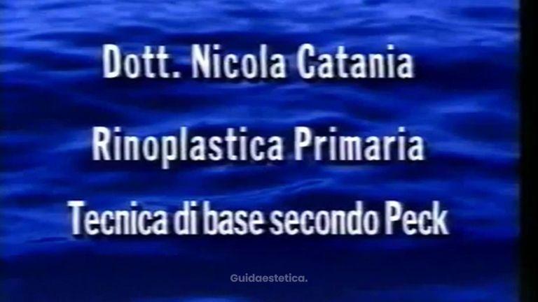 NICOLA CATANIA FILMATO INTERVENTO RINOPLASTICA