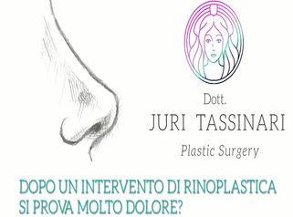 Si prova dolore dopo la rinoplastica Risponde il Dott. Juri Tassinari