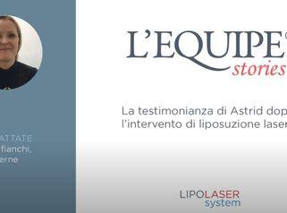 Testimonianza di Astrid post Liposuzione laser addome